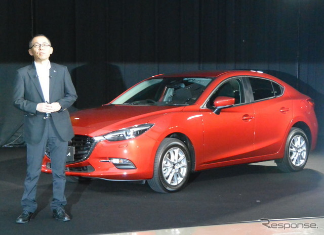 Mazda Axela improved new presentation