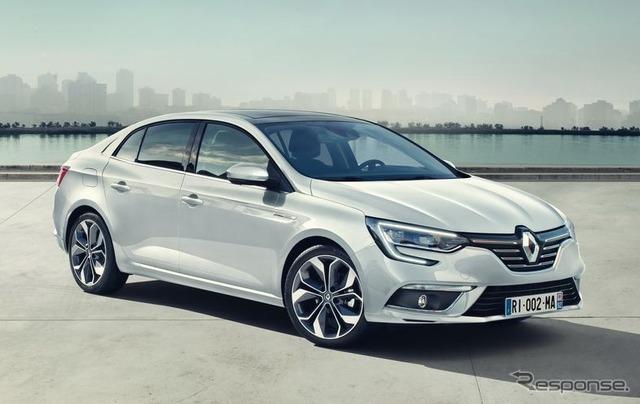 New Renault Megane sedan