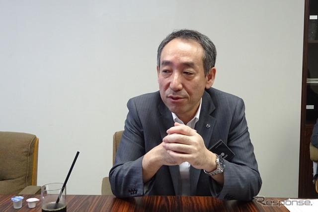 Mazda fukuhara Kazuyuki, managing Executive Officer