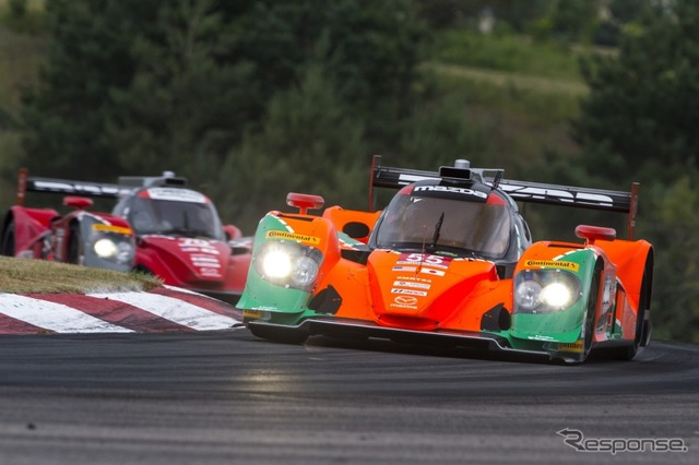 Mazda's prototype racer