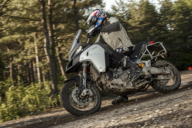 Ducati Multistrada 1200 Enduro off road test