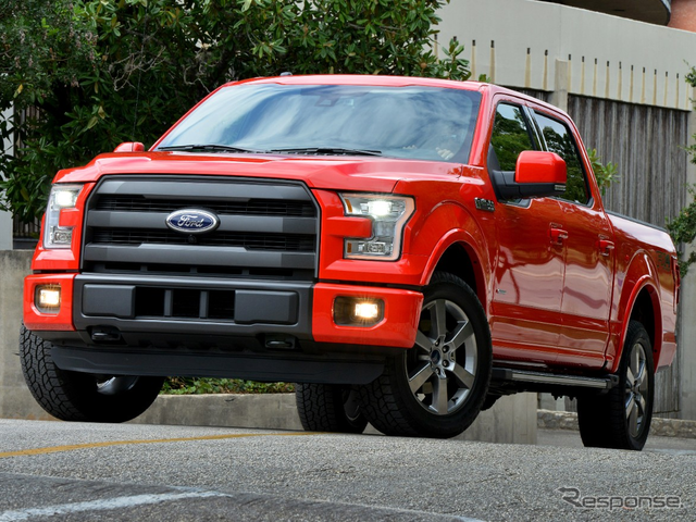 The most sold cars in the United States, the Ford F-Series f-150
