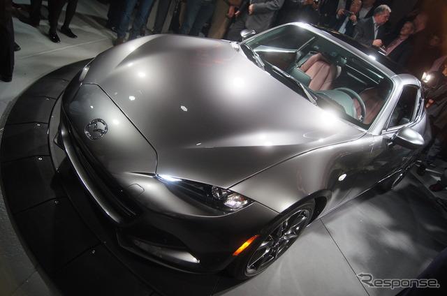 Mazda MX-5 RF at 2016 New York Motor Show