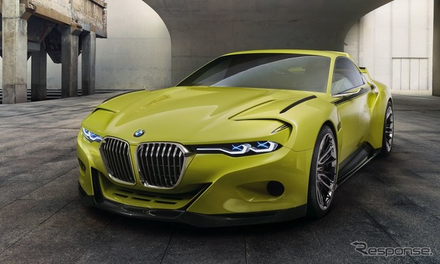 BMW 3.0 CSL tribute (the reference image)