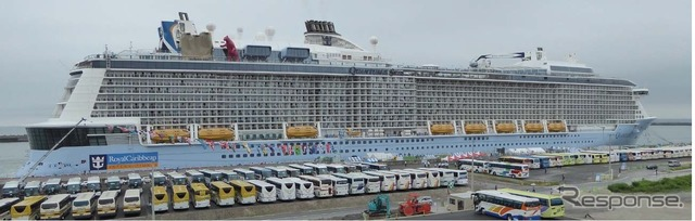 State of the quantum of the seas Kochi port port