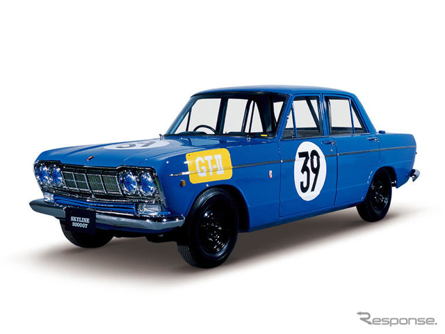 Prince skyline GT No. 2 times Japan Grand Prix gt-II race spec car S 54A-1-(1964)