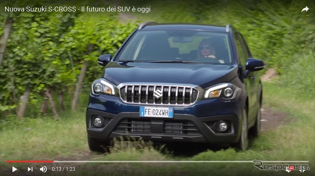 Improved Suzuki SX4 S Cross