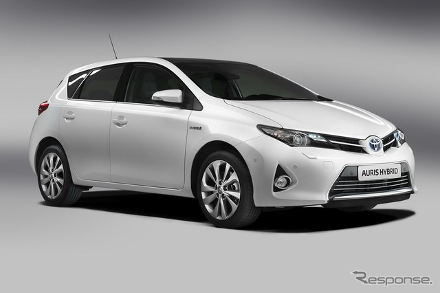 The all-new Auris Hybrid
