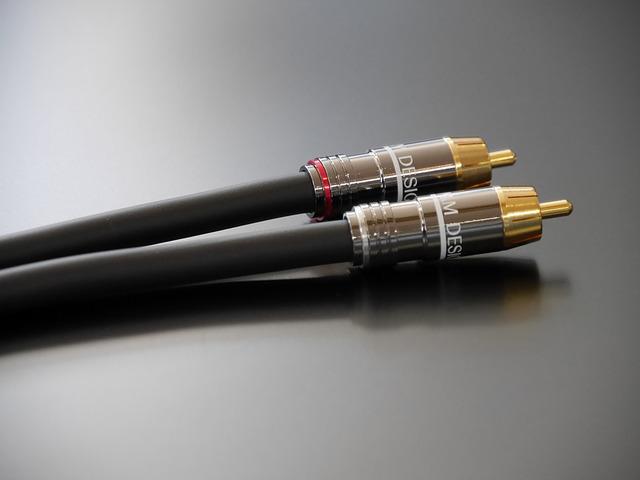 M & M DESIGN RCA cable