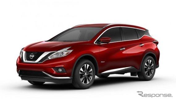 New Nissan Murano Hybrid