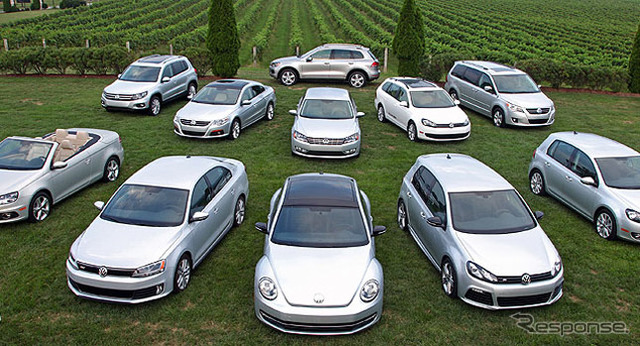 """Volkswagen to set a """"TDI"""" diesel in the United States a wide range of models (the reference image)"""