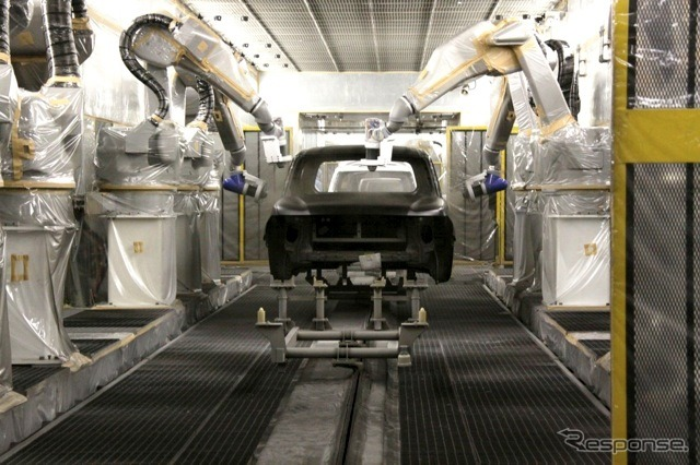 Nissan Shatai Kyushu factory (stock photo)
