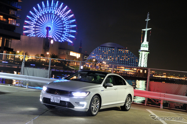 Easy long-distance drives with high-speed cruise performance of ballistic [VW Passat GTE long] part 1