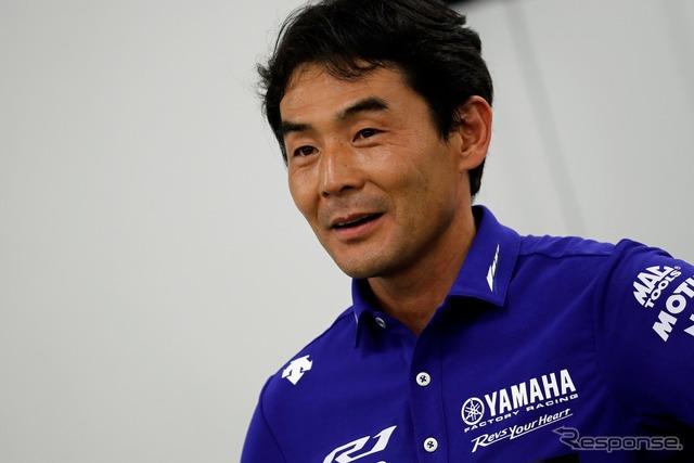 YAMAHA FACTORY RACING TEAM good luck kawawa w supervisor