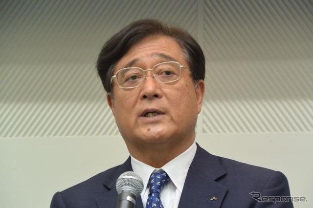 Mitsubishi Motors Osamu Masuko, President (images)