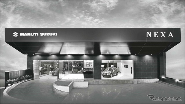 "New Maruti Suzuki dealership ""NEXA"""