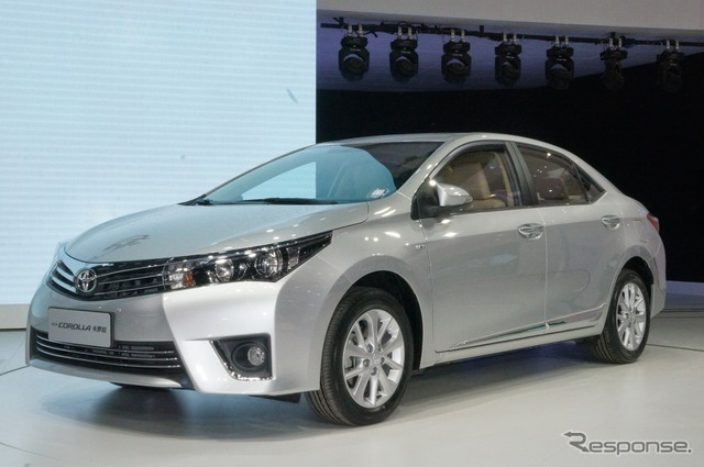 Toyota Corolla at 2014 Beijing Motor Show