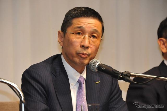 JAMA's West President Hayakawa (Vice Chairman, COO of motor, Nissan)