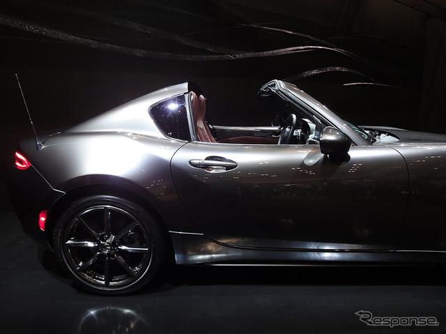 Mazda MX-5 RF + fregransstalk session (automobile Council 2016)