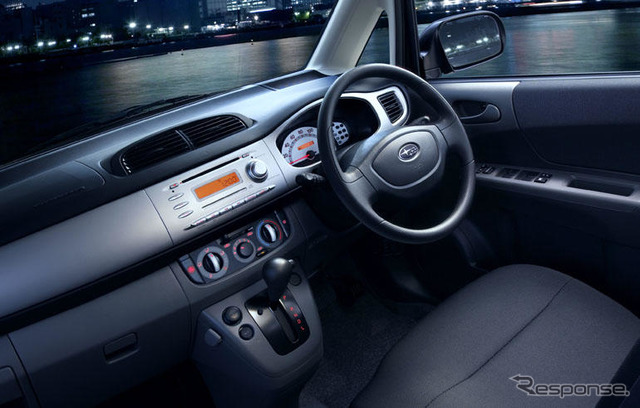 Special car equipped is omitted in the Subaru Stella