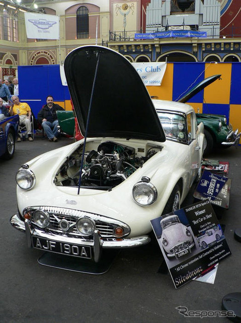 [Classic car show 07: Daimler SP250... More best car call