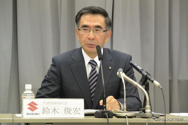 President of Suzuki, Toshihiro Suzuki