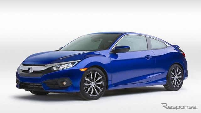The all-new Honda Civic Coupe