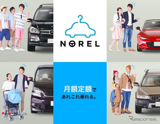 Norel monthly car exchange service