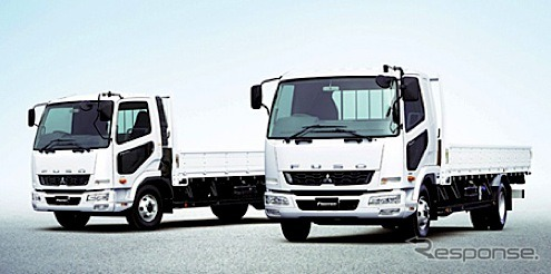 Mitsubishi Fuso Fighter (Japan specs, reference image)