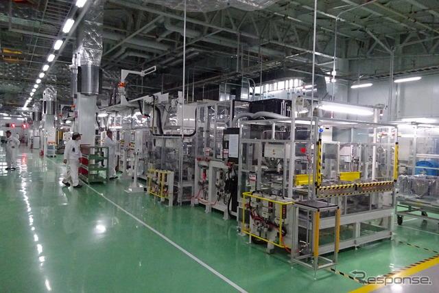 Additional 3 HV Motors new line at Honda, Hamamatsu