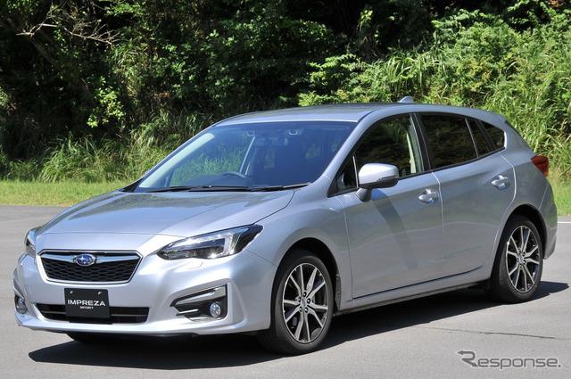 Photo Feature: New Subaru Impreza prototype