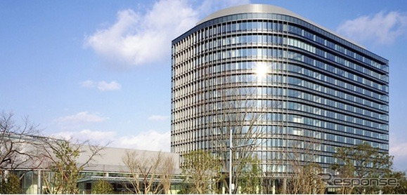 Toyota Motor Corp. headquarters (stock image)