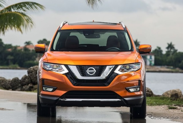 The 2017 Nissan Rogue (X-Trail)