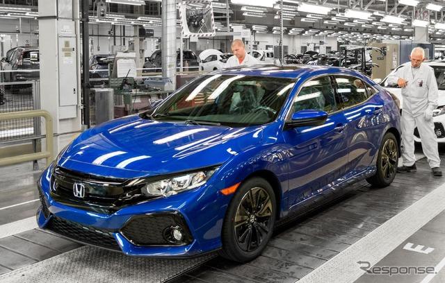 Honda's all-new Civic Hatchback (European model)