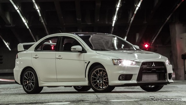Mitsubishi's Lancer Evolution Final Edition (US model)