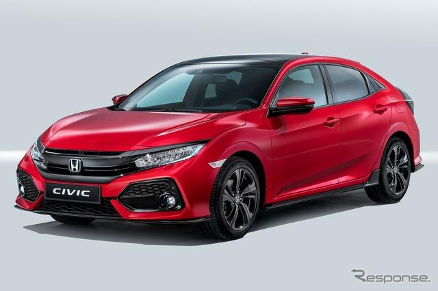 Honda's all-new Civic Hatchback