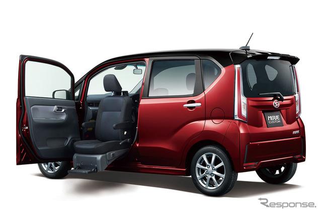 Daihatsu Move Front Seat Lift Custom X SAII (reference image)