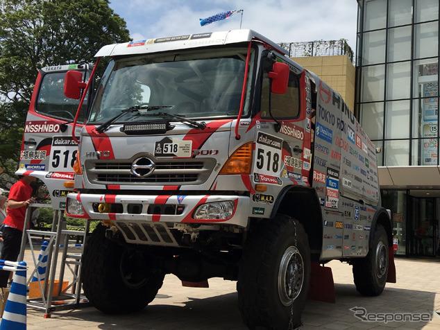 Hino Ranger Dakar rally car
