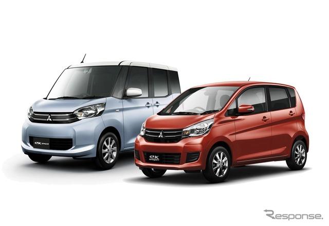 Mitsubishi's eK Space and eK Wagon