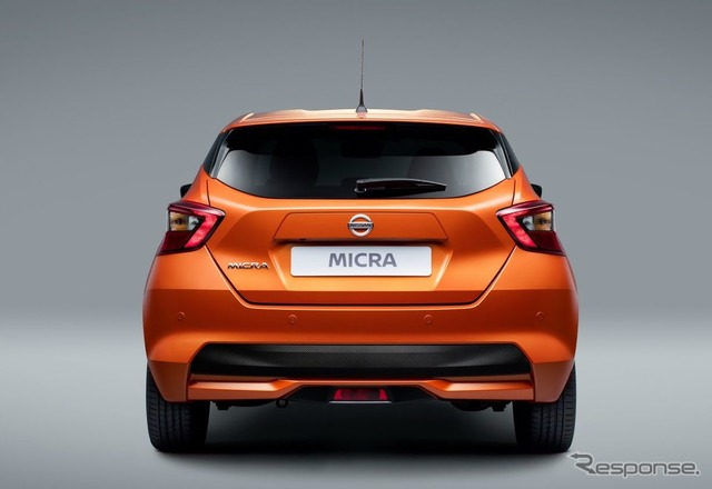 The all-new Nissan Micra (March)