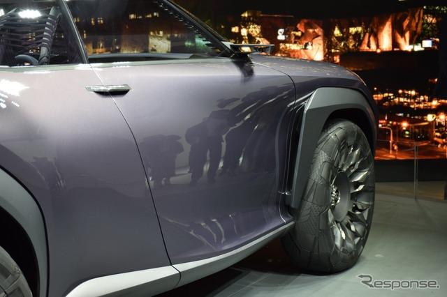 Lexus UX Concept (2016 Paris Motor Show)