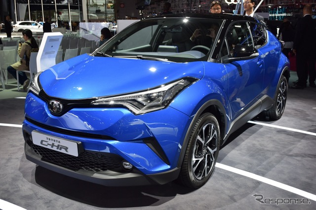 Toyota C-HR at 2016 Paris Motor Show
