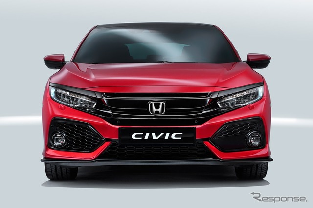 New Honda Civic Hatchback