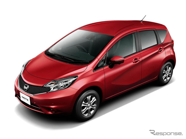The current Nissan Note (reference image)