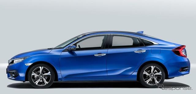 The all-new Honda Civic Sedan (European model)