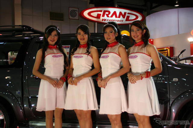 [Bangkok motor show 07: companion photo collection... Ah, conscious