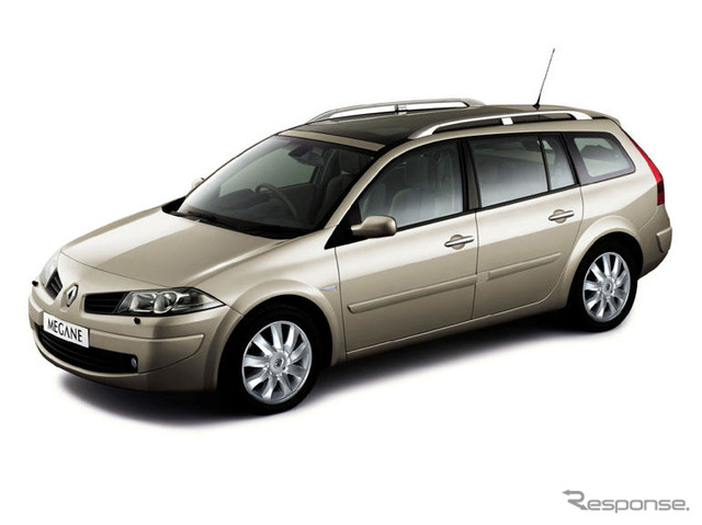 Renault Megane touring wagon Japan launched... Maximum cargo capacity of the class