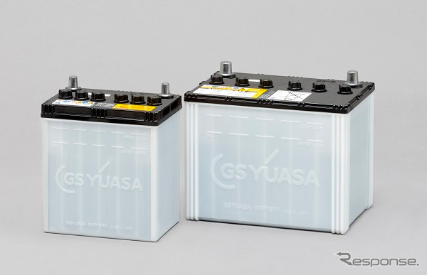 GS Yuasa's S-95 and K-42 idling stop car-use lead-acid batteries