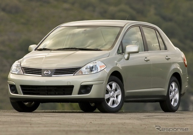Previous Nissan Versa (Tiida Latio in Japan)