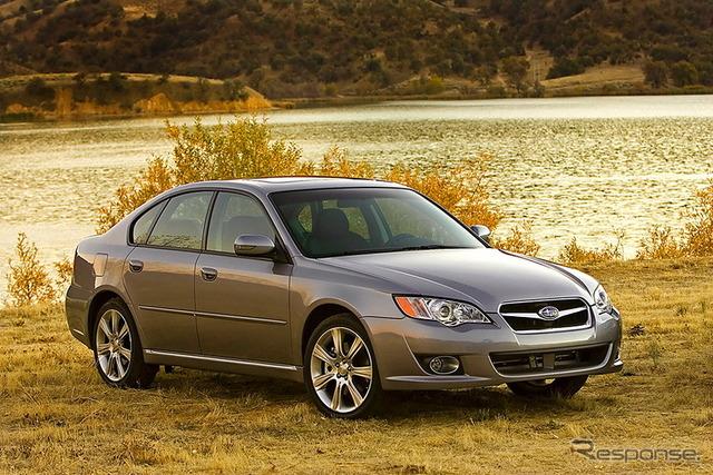 Older Subaru Legacy model for US